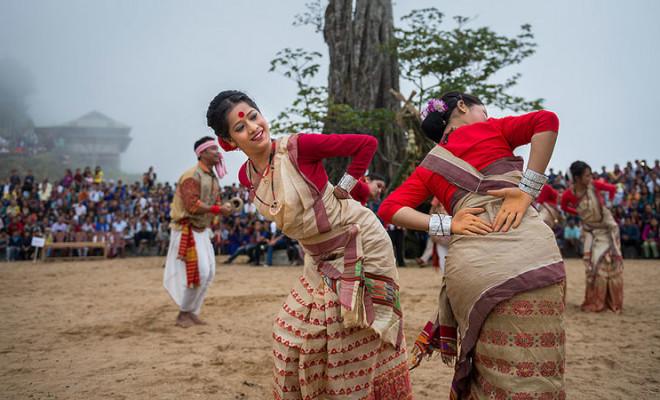 Bohag Bihu Dance Assam