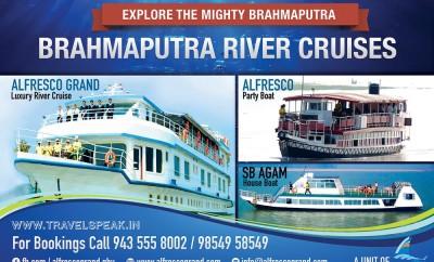 Brahmaputra River Cruises Alfresco Grand