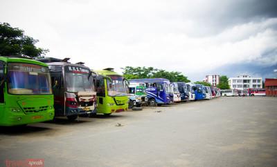 Guwahati ISBT Buses