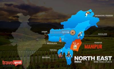 Manipur Map