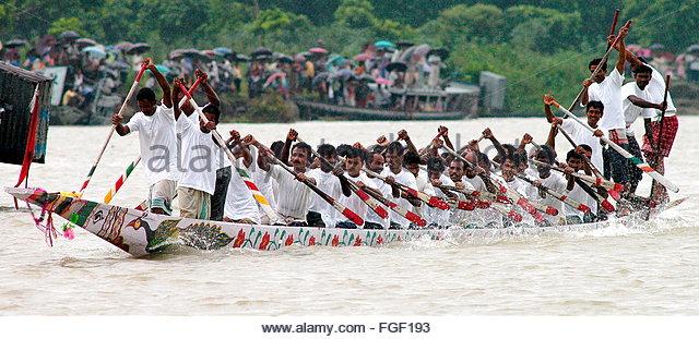 Sualkuchi Traditional Boat Race